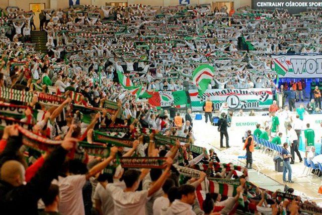 Legia na Torwarze (Fot. Legioniści.com)