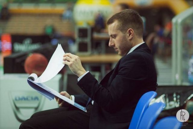 Aleksander Lewandowski / fot. FIBA