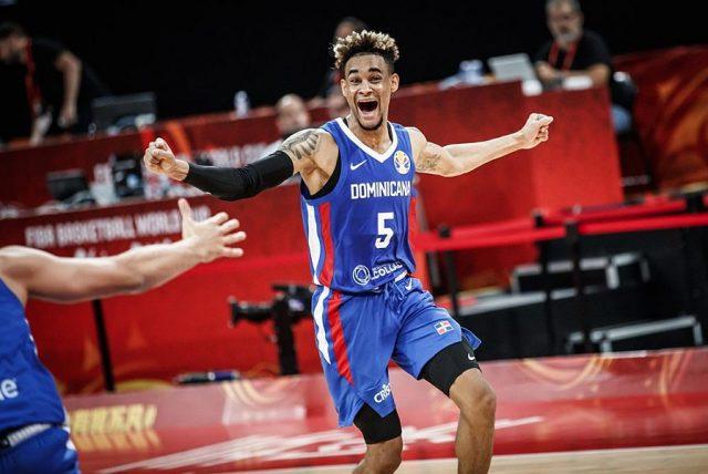 Victor Liz, lider zespołu Dominikany / fot. FIBA
