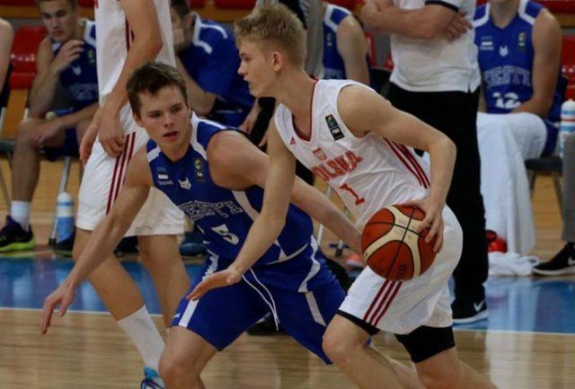 Łukasz Kolenda (fot. fiba.com)
