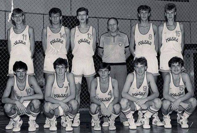 Rok 1987, zgrupowanie kadry młodzieżowej w Olsztynie (fot. Facebook)