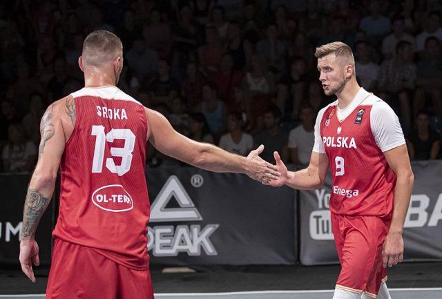Marcin Sroka i Przemysław Zamojski / fot. FIBA