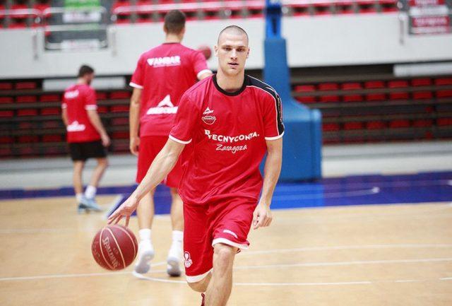 Michał Michalak (fot. basketzaragoza)