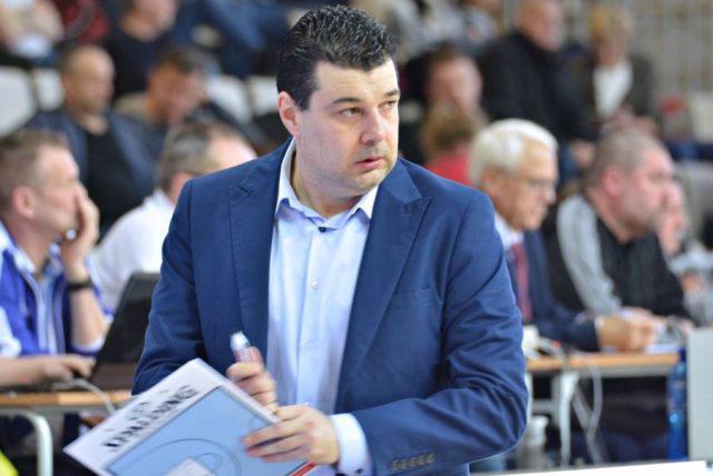 Dragan Nikolić, trener AZS ./ fot. AZS Koszalin SA