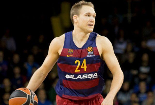 Brad Oleson spędził 4 poprzednie sezony w Barcelonie / fot. Euroleague