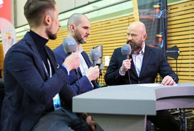 (od lewej) Rafał Juć, Robert Witka i Łukasz Cegliński, fot. A. Romański, plk.pl