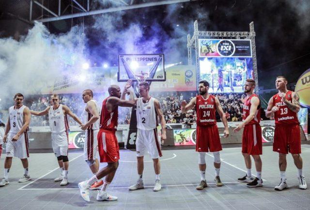 Paweł Pawłowski, Marcin Sroka, Michael Hicks, Przemysław Zamojski / fot. FIBA
