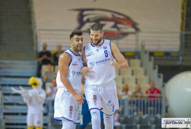 Aleksandar Radulović  i Dragoslav Papić / fot. AZS Koszalin, sportowiec.info