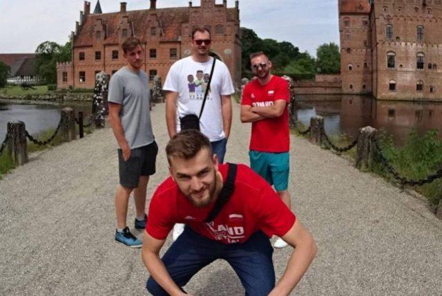Szymon Rduch, Arkadiusz Kobus, Przemysław Rduch, Dawid Bręk (fot. Facebook.com)
