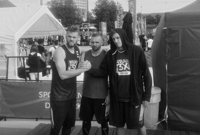 Od lewej: Szymon Rduch, Dawid Bręk, Arkadiusz Kobus