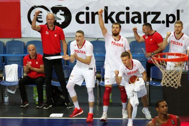 Reprezentacja Polski (Fot. Andrzej Romański/PZKosz)