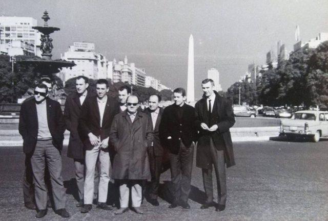 Reprezentacja Polski w Buenos Aires w 1967 roku (fot. archiwum prywatne Włodzimierza Tramsa)