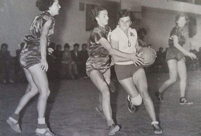 Roma Olesiewicz w akcji (fot. archiwum prywatne)