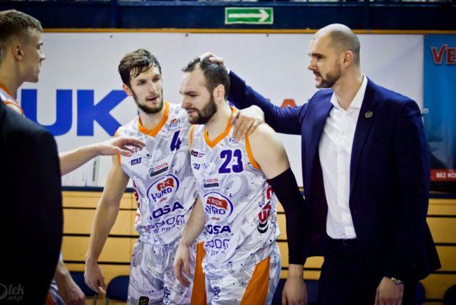Marcin Piechowicz, Duda Sanadze (nr 23) i Robert Witka / fot. T. Fijałkowski, fiolek.art.pl