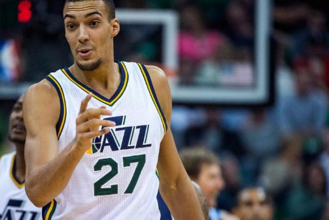 Rudy Gobert / fot. wikimedia commons