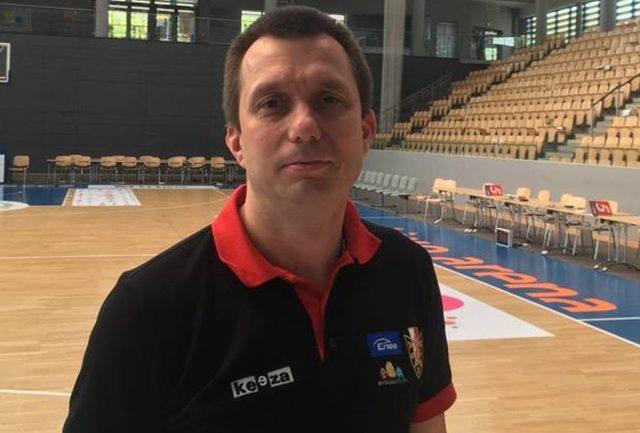 Trener Grzegorz Skiba / fot. Enea Astoria Bydgoszcz