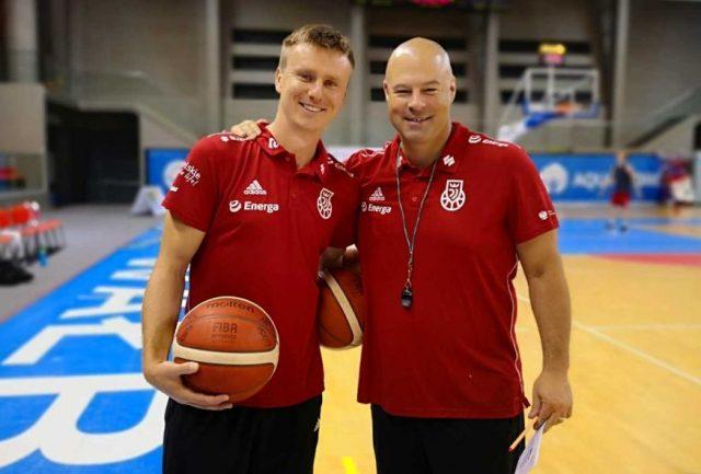 Robert Skibniewski i Mike Taylor / fot. KoszKadra