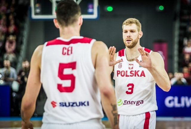 Aaron Cel i Michał Sokołowski / fot. FIBA Europe