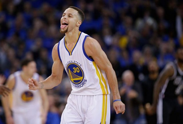 Stephen Curry (fot. Wikimedia Commons)
