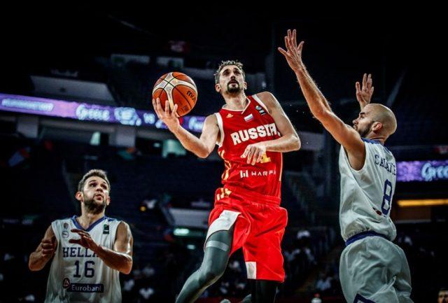 Największą gwiazdą reprezentacji Rosji jest Aleksiej szwied / fot. FIBA