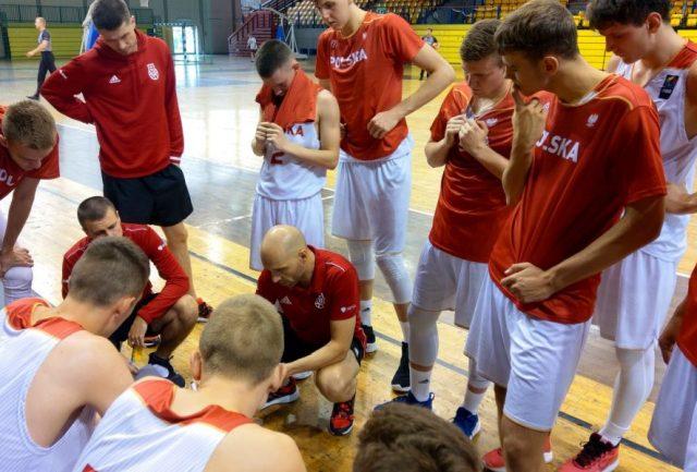 Reprezentacja Polski U18 / fot. PZKosz