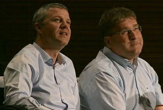 Walter Jeklin i Janusz Jasiński (fot. Euroleague.net)