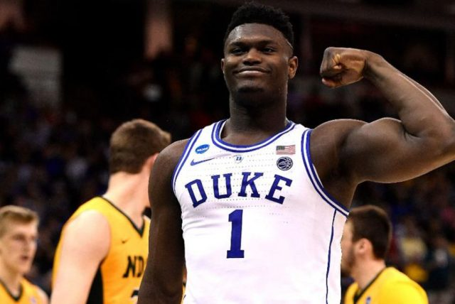 Zion Williamson / fot. NBA League Pass